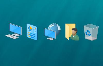 поменять расположение рабочего стола windows 10