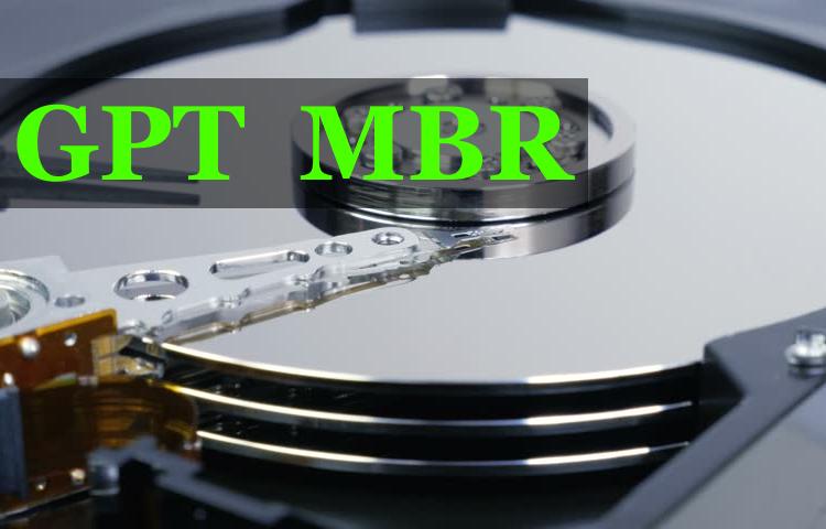 Kак узнать стиль разметки таблицы разделов на диске (mbr или gpt)