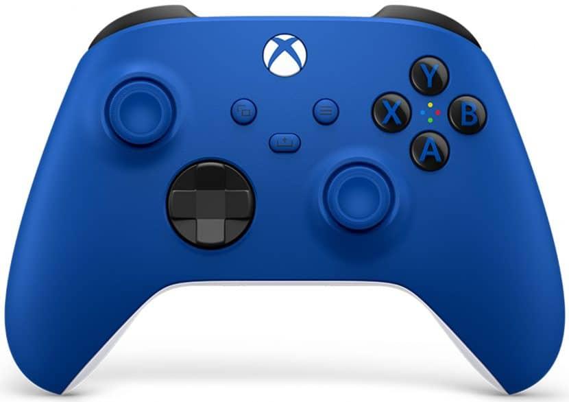 голубой геймпад для Xbox Series