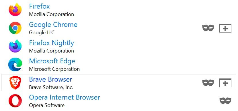 браузеры в BrockenURL