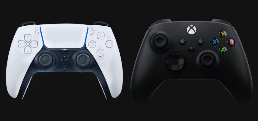 Джойстики PS5 и Xbox Series X