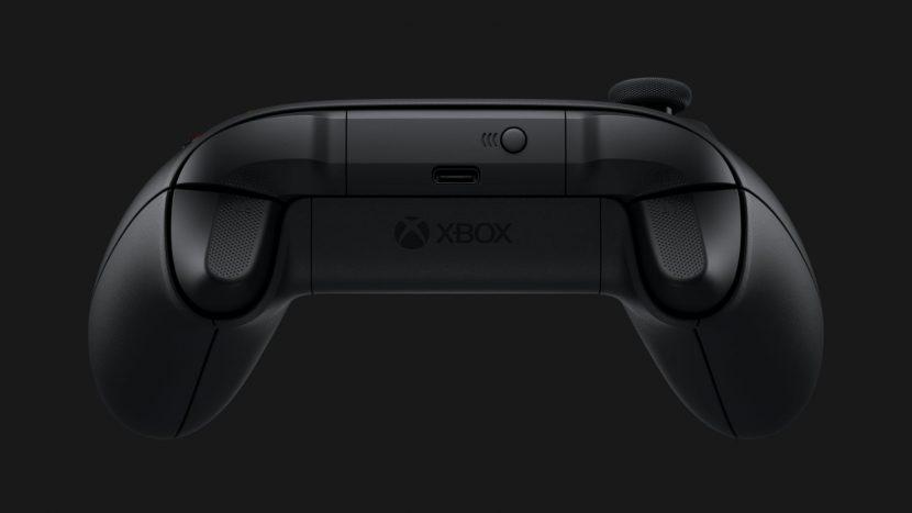 USB-C на геймпаде Xbox Series X