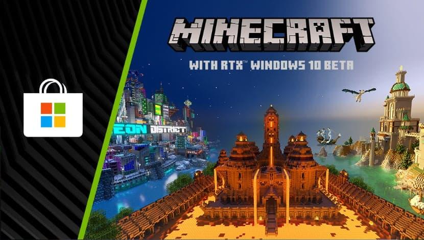 Minecraft RTX для Windows 10