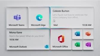 дизайн нового меню Пуск Windows 10