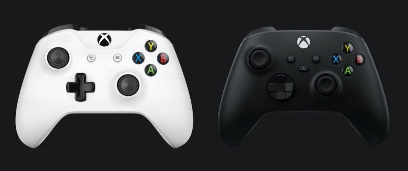 геймпады Xbox One и Series X